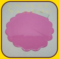 Celofán kruh 50cm Ružová