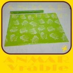 Celofán farebný hárky  Zelená
