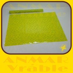 Celofán farebný hárky  Žltá