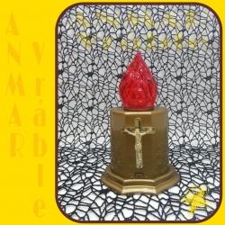 Elektrický vklad Ovál Zlatá