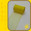 Organza 8cm Žltá QQ28 3