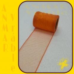 Organza 8cm Oranžová QQ24