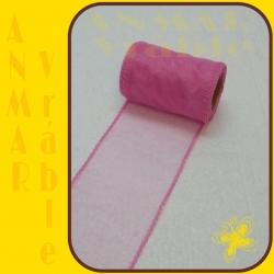 Organza 8cm Ružová QQ21