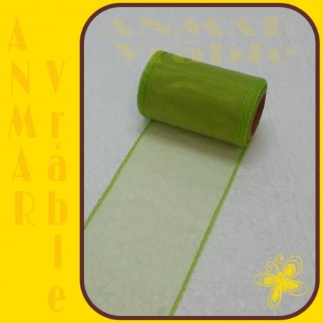 Organza 8cm Zelená QQ39