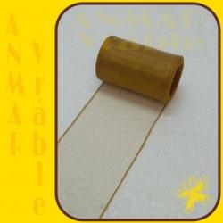 Organza 8cm Zlatá QQ31
