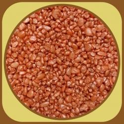 Dekoračné kamienky 500g Oranžová 4
