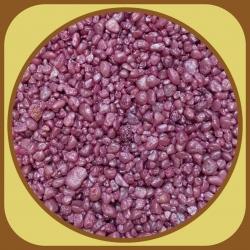 Dekoračné kamienky 500g Ružová 6