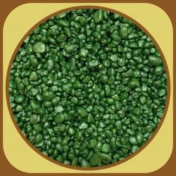 Dekoračné kamienky 500g Zelená tmavá 7A