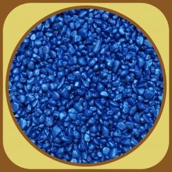 Dekoračné kamienky 500g Modrá 11