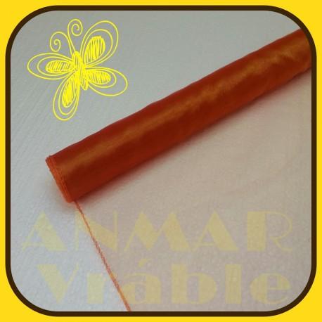 Organza 40cm  Mandarinková
