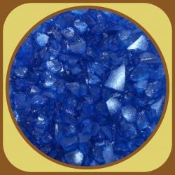 Sklo hrubé 500g Modrá 11