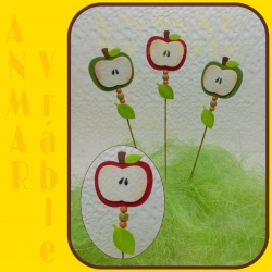 Jabĺčka zápich 12ks