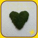 Machový veniec srdce 20cm