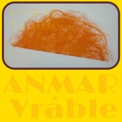 Sisal polkruh 70cm Oranžová