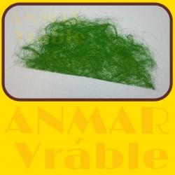 Sisal polkruh 70cm Zelená