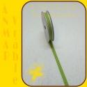 Stuha s čipkou bodka Zelená 7
