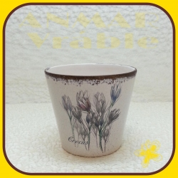 Kvetináč keramický D2571B