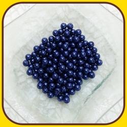 Perly 8mm Modrá tmavá