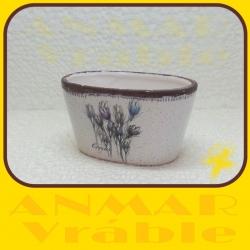 Kvetináč keramický D25373B Crocus
