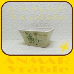 Kvetináč keramický D25135C/1 Green