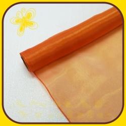 Organza perla 38cm Oranžová