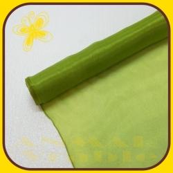 Organza perla 38cm Zelená