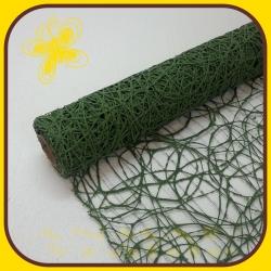 Sisal mesh pásy Zelená oliva 7A