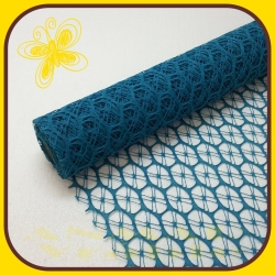Lemon mesh 50cm Tyrkys 11A