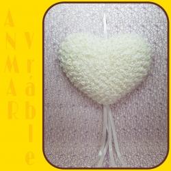 Srdce záves 40cm HY16 - 1230
