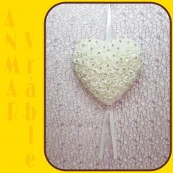 Srdce záves 22cm HY16 - 1232