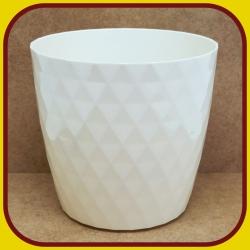 Kvetináč CRISTAL PLAST Krém 2