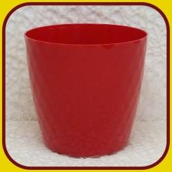 Kvetináč CRISTAL PLAST Červená 5