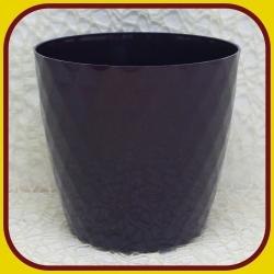 Kvetináč CRISTAL PLAST Fialový 8