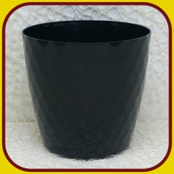 Kvetináč CRISTAL PLAST Čierny 10