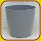 Kvetináč CRISTAL PLAST Strieborný 14