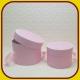 Kvetinový box okrúhly Ružový 6