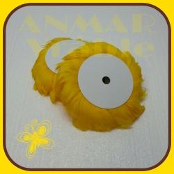 Pierka na drôte 10m Žltá