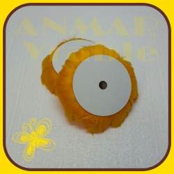 Pierka na drôte 10m Oranžová svetlá