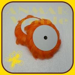 Pierka na drôte 10m Oranžová